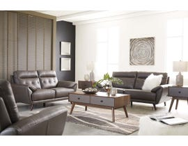 Signature Design by Ashley Sissoko Series Sofa Set in Gray 3460320-35-38