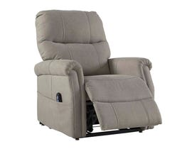 Signature Design by Ashley Markridge Series Power Lift Recliner in Gray 3500212