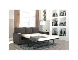 Signature Design by Ashley Zeb Full Sofa Sleeper Charcoal finish 3590136