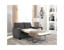 Signature Design by Ashley Zeb Series Twin Sofa Sleeper Charcoal finish 3590137