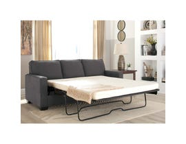 Signature Design by Ashley Zeb Series Queen Sofa Sleeper Charcoal finish 3590139