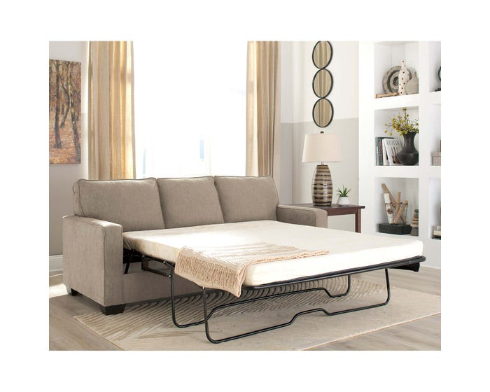 Groovy Signature Design By Ashley Zeb Series Queen Sofa Sleeper Quartz Finish 3590239 Dailytribune Chair Design For Home Dailytribuneorg