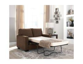 Signature Design by Ashley Zeb Series Twin Sofa Sleeper Espresso finish 3590337