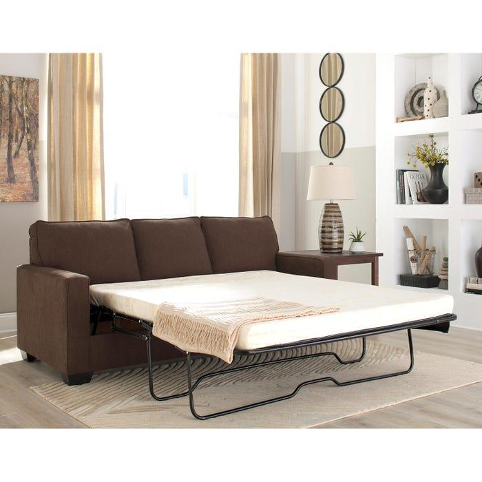 Surprising Signature Design By Ashley Zeb Series Queen Sofa Sleeper Espresso Finish 3590339 Interior Design Ideas Skatsoteloinfo