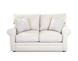 Klaussner Catherine Series Loveseat in Beige 36330