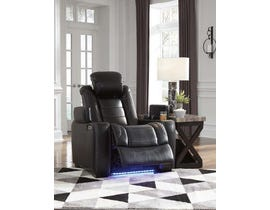 Signature Design by Ashley Power Recliner in Midnight 3700313
