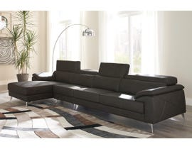 Signature Design by Ashley Tindell Series LAF Corner Chaise Sectional 37303