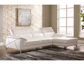 Signature Design by Ashely Tindell Series 2-PC RAF Corner Chaise Sectional Set in white 3730517-55