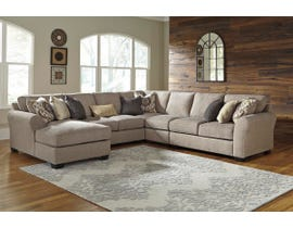 Signature Design by Ashley Pantomine Series LAF Corner Chaise Sectional in Driftwood 39102