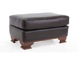 Decor-Rest Leather Ottoman in Campania Chestnut 3933