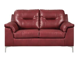 Signature Design by Ashley Tensas Series Loveseat in Red 3960335