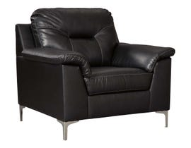 Signature Design by Ashley Tensas Series Chair in Black 3960420