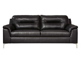 Signature Design by Ashley Tensas Series Sofa in Black 3960438