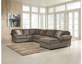 Signature Design by Ashley 3-Piece fabric Sectional in dune brown 39802S1