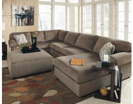 Signature Design by Ashley Jessa Place Series RAF Corner Chaise Sectional in Dune 39802