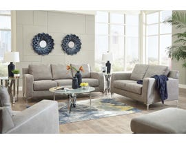 Signature Design by Ashley Ryler Collection 3-Piece Living Room Set in Steel 40201