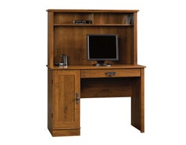 Sauder Harvest Mill Collection Computer Desk W/hutch in Abbey Oak 404961