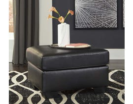 Signature Design by Ashley Betrillo Series Ottoman in Black 4050214