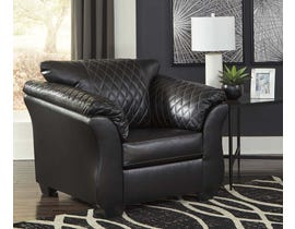 Signature Design by Ashley Betrillo Series Chair in Black 4050220