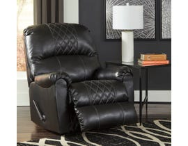 Signature Design by Ashley Betrillo Series Rocker Recliner in Black 4050225