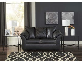 Signature Design by Ashley Betrillo Series Loveseat in Black 4050235