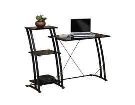 Sauder Deco Collection Tiered Desk in Black 408687