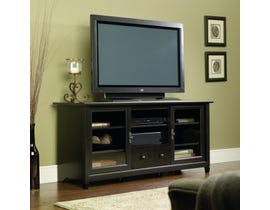 Sauder Edge Water Collection Entertainment Credenza in Estate Black 409048