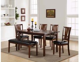 New Classics Dixon Series 6pc Dining Set in Espresso D1426