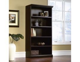 Sauder Library bookcase in Estate Black Finish 412177