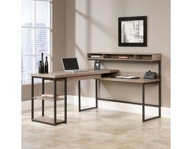 Sauder Transit L Desk in salt Oak 414417