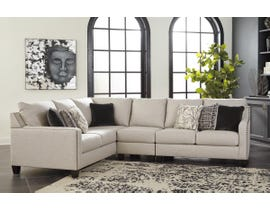 Signature Design by Ashley Hallenberg Collection LAF Sectional in Fog 41501