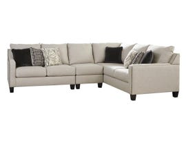 Signature Design by Ashley Hallenberg Collection RAF Sectional in Fog 41501