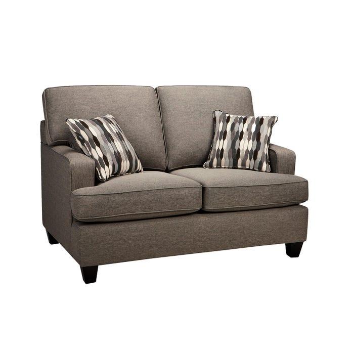 Loveseat Sofa By Fancy Krysta Brown 4150 Lastman S Bad Boy
