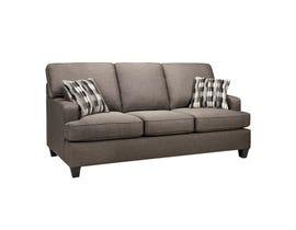 SBF Upholstery Krysta Fabric Sofa in Coffee Brown 4150