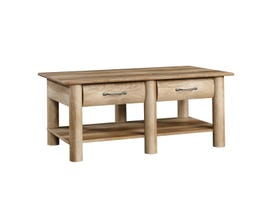 Sauder Boone Mountain Collection Coffee Table in Craftsman Oak 416562