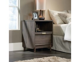 Sauder International Lux Collection Nightstand in Fossil Oak 418015