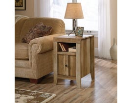 Sauder Dakota Pass wood End Table in Crasftsman in oak brown 420139