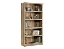 Sauder 5-Shelf Bookcase in Lintel Oak 420174