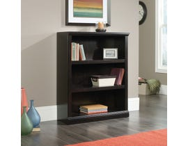 Sauder 3 Shelf Bookcase Estate Black 420175