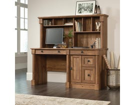 Sauder Palladia Collection Computer Desk With Hutch in Vintage Oak A2 420713