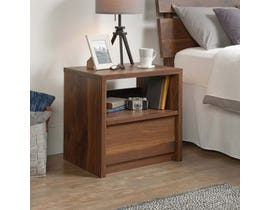 Sauder Harvey Park Collection Night Stand Grand Walnut 420944