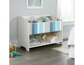 Sauder Pinwheel Bookcase (footboard) in white 421889