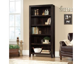 Sauder Dakota Pass 5-Shelf Bookcase in Char Pine 422595