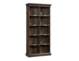 Sauder Barrister Lane Collection Tall Bookcase Iron Oak 422716