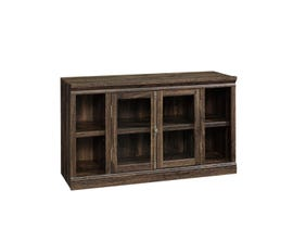Sauder Barrister Lane Collection Entertainment Credenza in Iron Oak 422718