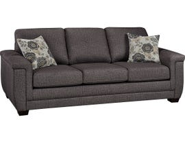 SBF Zurick Collection Fabric Sofa in Trapeze 4395