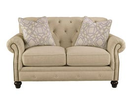 Signature Design by Ashley Kieran Loveseat in natural beige 4400035