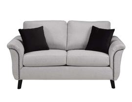 SBF Upholstery Fabric Loveseat in Troy 210