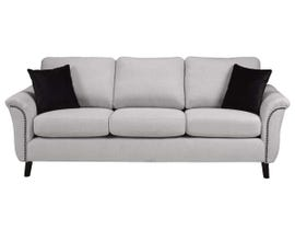 SBF Upholstery Troy Collection Fabric Sofa 4475