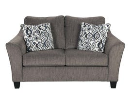 Signature Design by Ashley Loveseat in Slate 4580635